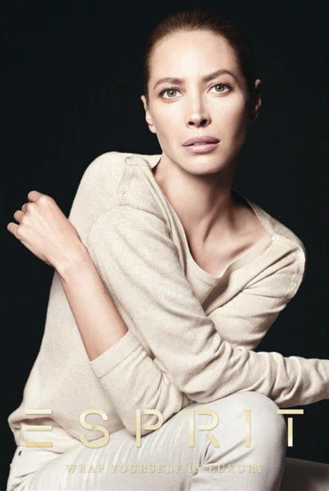 Turlington In V Magazine by Turlington In Esprit 2012 Caign