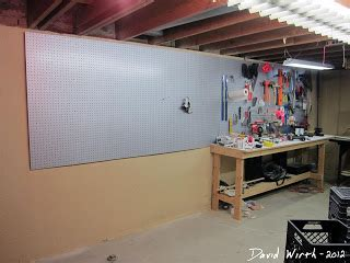 design milk peg board homemade craft table and workbench