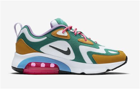 Nike Air Max 200 Mystic by Nike Air Max 200 Mystic Green At6175 300 Release Date Info Sneakerfiles