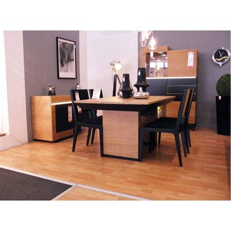 futuris black dining room set