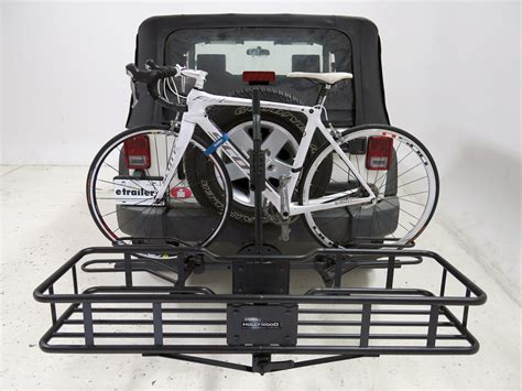Hitch Cargo Bike Rack Combo by Racks Sport Rider Se Platform 4 Bike Rack W
