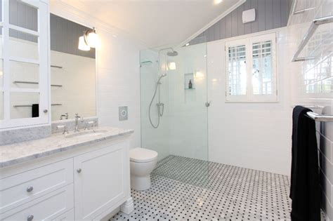 ensuite bathroom renovation in indooroopilly