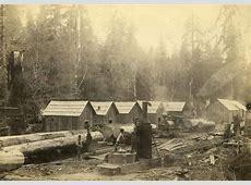 Logging Camp, Astoria, Oregon, ca 1900 | Pacific Northwest ... Logging Camp History