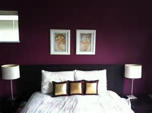 bedroom accent wall beautiful shade of purple this is