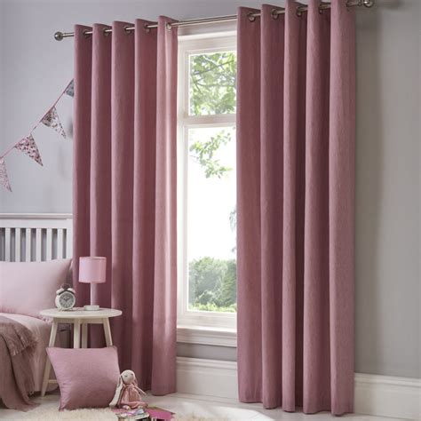 dream drapes dreams drapes sorbonne blush readymade curtains 66 quot x 54