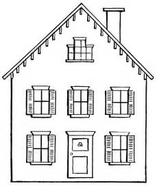 Black And White Home House Black And White Clipart Images House Wikiclipart
