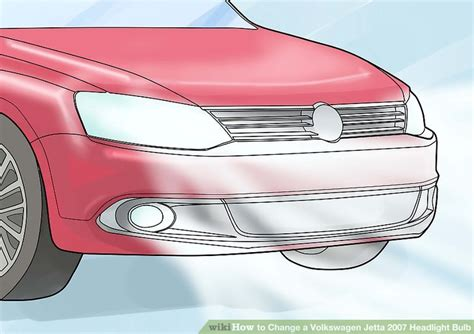 how to change a volkswagen jetta 2007 headlight bulb 9 steps