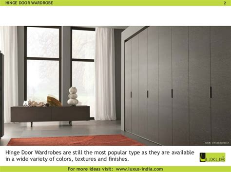 Types Of Wardrobes by 6 Types Of Wardrobes You Need To About