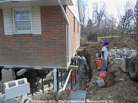 pontiac basement waterproofing staydry 174 michigan