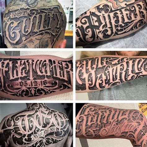 tattoo fonts space scribomania sam s ornate freehand lettering tattoodo