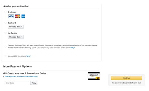 Gift Card Or Promotional Code For Amazon India - different ways to enter promo codes vauchar blog