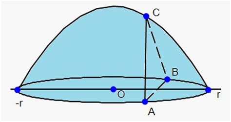 cross section equilateral triangle volumes solids of revolution and method of rings disks on