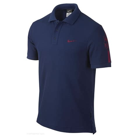 Polo Shirt Nike Barca 1 nike barcelona fc mens soccer polo shirt navy sportitude