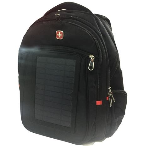 solar charger bag backpack