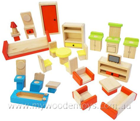 wooden dolls house with furniture wooden dolls house furniture set at my wooden toys