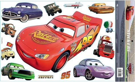 Sticker Cars Geant by Sticker Cars Disney Mural Super Geant 47 Cm