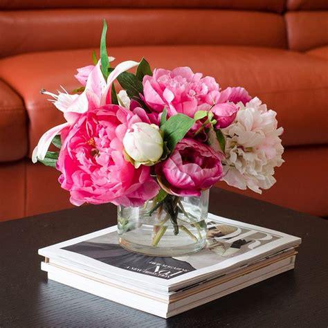 vasi con fiori finti vasi con fiori finti piante finte fiori finti in vaso