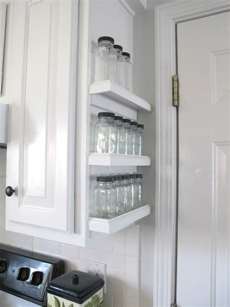 cabinet space 10 borderline brilliant ways to store spices and save