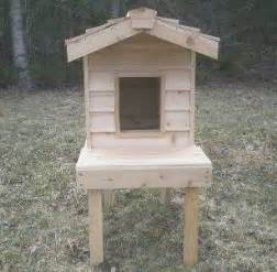 outdoor cat furniture cat furniture cedar cat house for outdoors low price