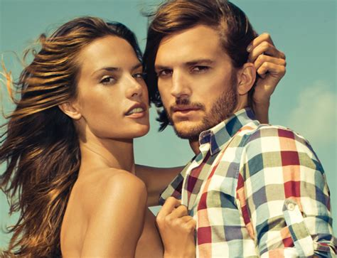 Next Fall 2007 Ad With Alessandra Ambrosio And Paul Sculfor by Alessandra Ambrosio Ashton Kutcher For Colcci