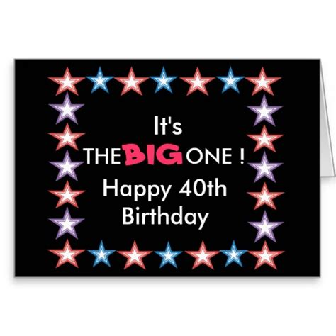 40th Birthday Verses For Cards Happy 40th Birthday Quotes Quotesgram