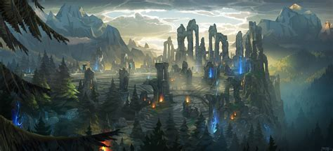 League Of Legends Landscape Wallpaper