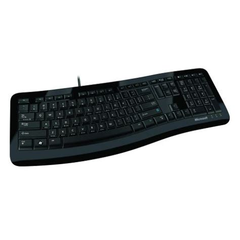 Microsoft Comfort Curve Keyboard 3000 Review by Buy Microsoft Comfort Curve 3000 Wired Keyboard Black From Our Keyboards Range Tesco