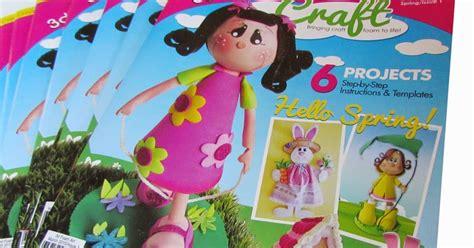 craft usa doll fofuchas dolls 3d foam craft magazine in the usa