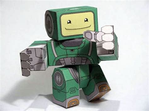 Paper Craft Robot - 50 free papercraft robot downloads 171 papercraft