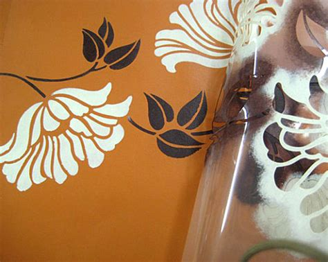 Painting Stencils by Acrylic Stencil Painting Class Portsmouth