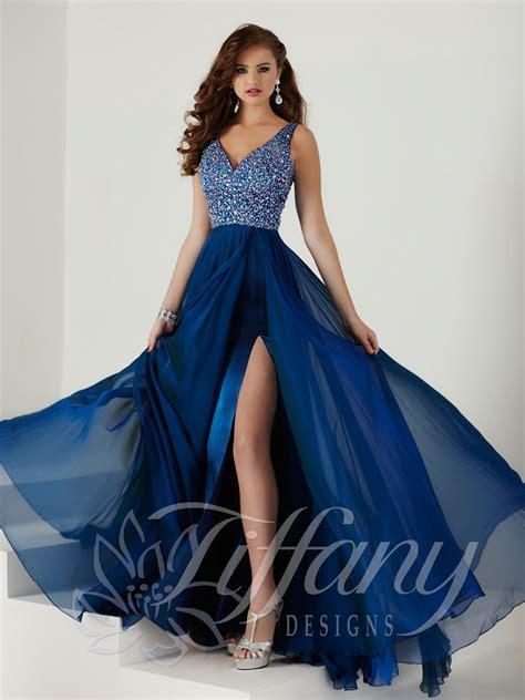 design prom dress tiffany designs 16141 prom dress prom gown 16141