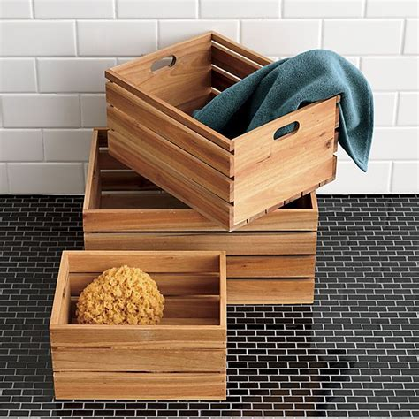 Bathroom Storage Box 16 Baskets Bottles And Other Beautiful Bathroom Storage