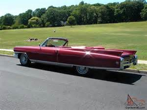 1963 Cadillac Convertible 1963 Cadillac Eldorado Biarritz Convertible Beautiful Cruiser
