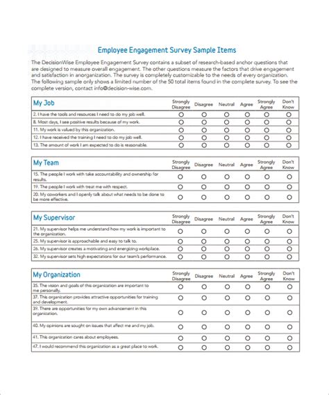 sample employee benefit survey questions meltemplates