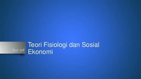 Sosiologi Kependudukan teori sosiologi kependudukan