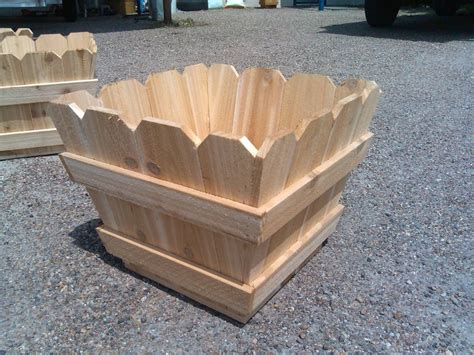 Cedar Fence Picket Planter Boxes By Kirbi69 Fence Planter Boxes