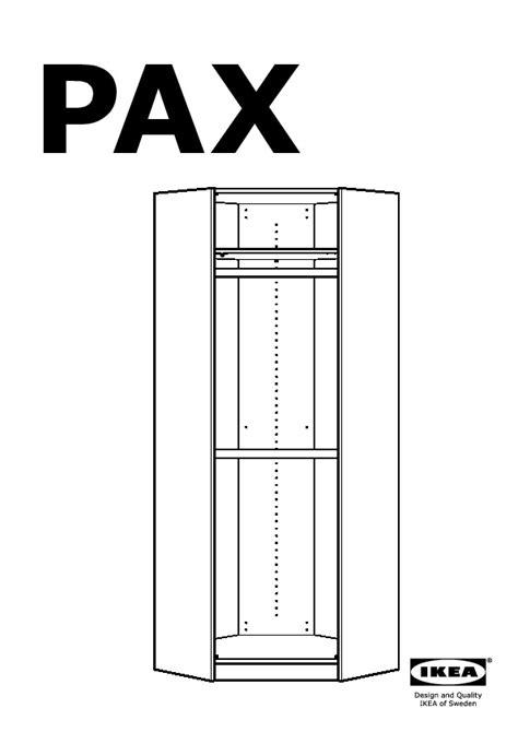 Ikea Pax Wardrobe Dimensions - pax corner wardrobe white hemnes white stain ikea united