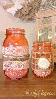 easy diy home decor with david tutera casual 1000 images about lace crafts on lace lace and jars