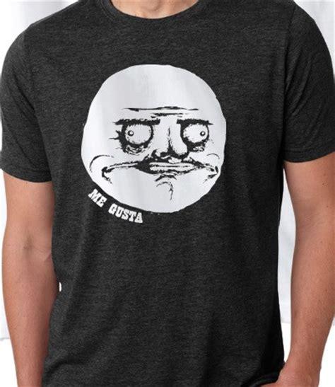 Meme T Shirts - me gusta rage face meme t shirt le rage shirts