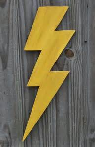 Home Decor Okc by Wooden Lightning Bolt Thunder Storm Wall Decor Made To Order