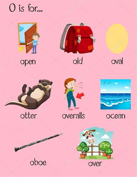 5 Letter Words That Start With O letter o words www pixshark images galleries with