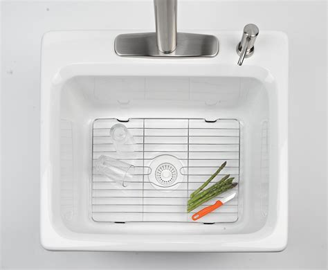 wire rack sink protector amazon com better houseware 1487 8 large sink protector