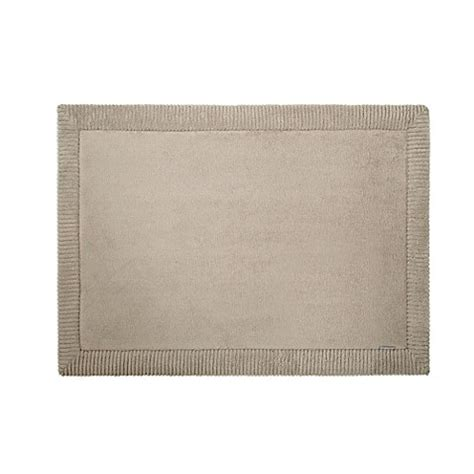 microdry rugs microdry 174 memory foam bath mat with griptex base in taupe bed bath beyond