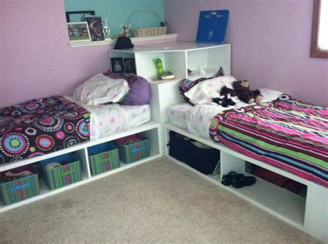 corner beds with storage storage beds twin with corner unit do it yourself home
