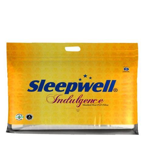 Buy Sleepwell Pillow by Sleepwell Sweet Indulgence Pillow Buy Sleepwell Sweet