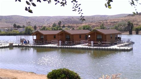 Santee Lakes Cabins by Floating Cabins On The Water Yelp