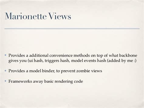 marionette layout view regions backbone marionette introduction