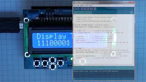 arduino arduino lcd tutorial youtube