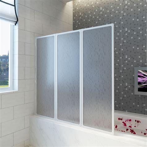 Badewannen Duschabtrennung badewannen faltwand duschabtrennung 141 x 132 cm de