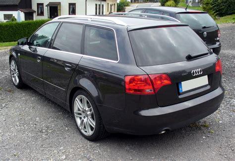Audi A4 Avant B7 by File Audi A4 B7 Avant Heck Jpg Wikimedia Commons